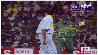 Remember Ventakesh Prasad vs Aamir Sohail Incident at 1996 World Cup Match? Relive Moments As Both Star Players Set to Appear at Pre-Match Show of India vs Pakistan at Asia Cup 2018